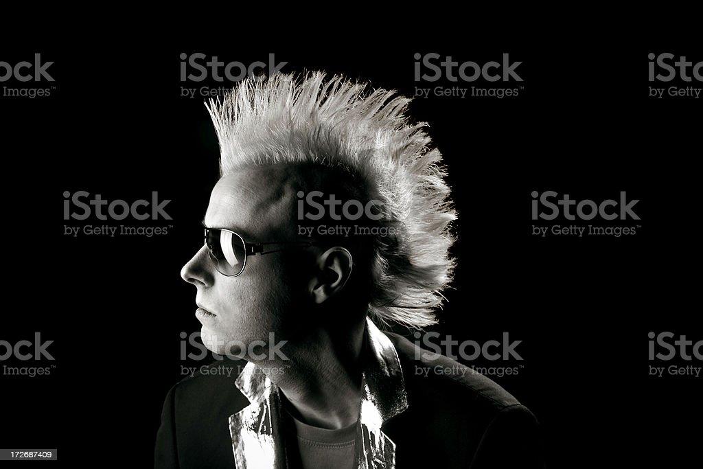 Punk royalty-free stock photo