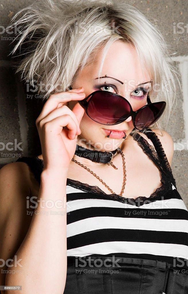 Punk Portrait royalty-free stock photo