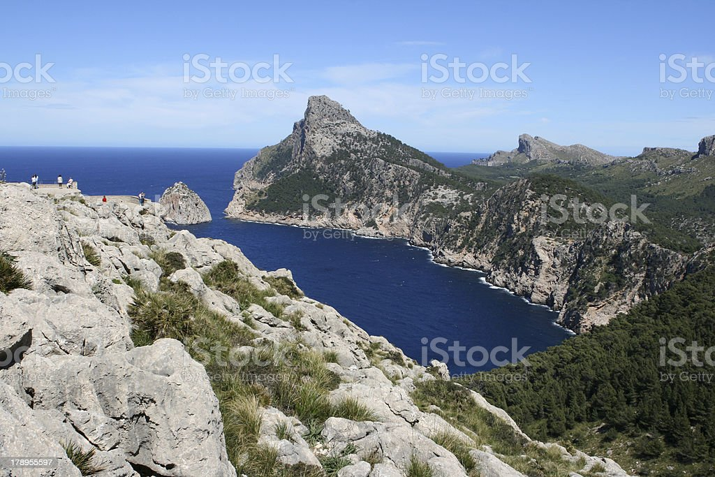 Punta de sa Guarda d Tacarix royalty-free stock photo