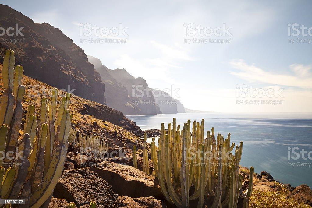 Punta de Teno, Tenerife, Spain stock photo