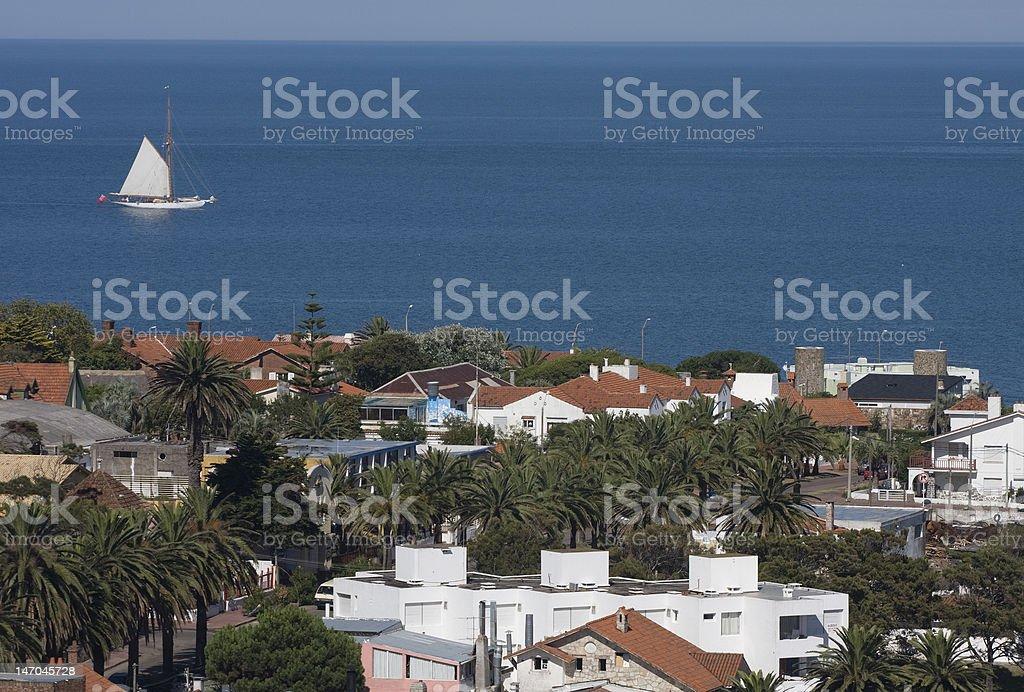 Punta del Este, Uruguay stock photo
