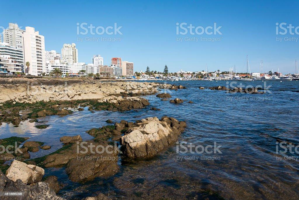 Punta del Este - Uruguay stock photo