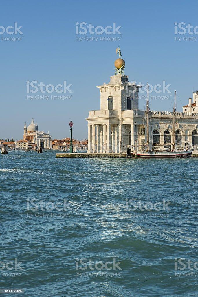 Punta Della Dogana (Venezia) stock photo