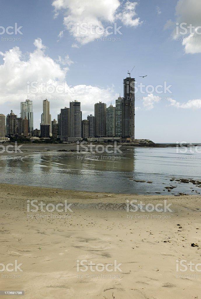 Punta Paitilla stock photo