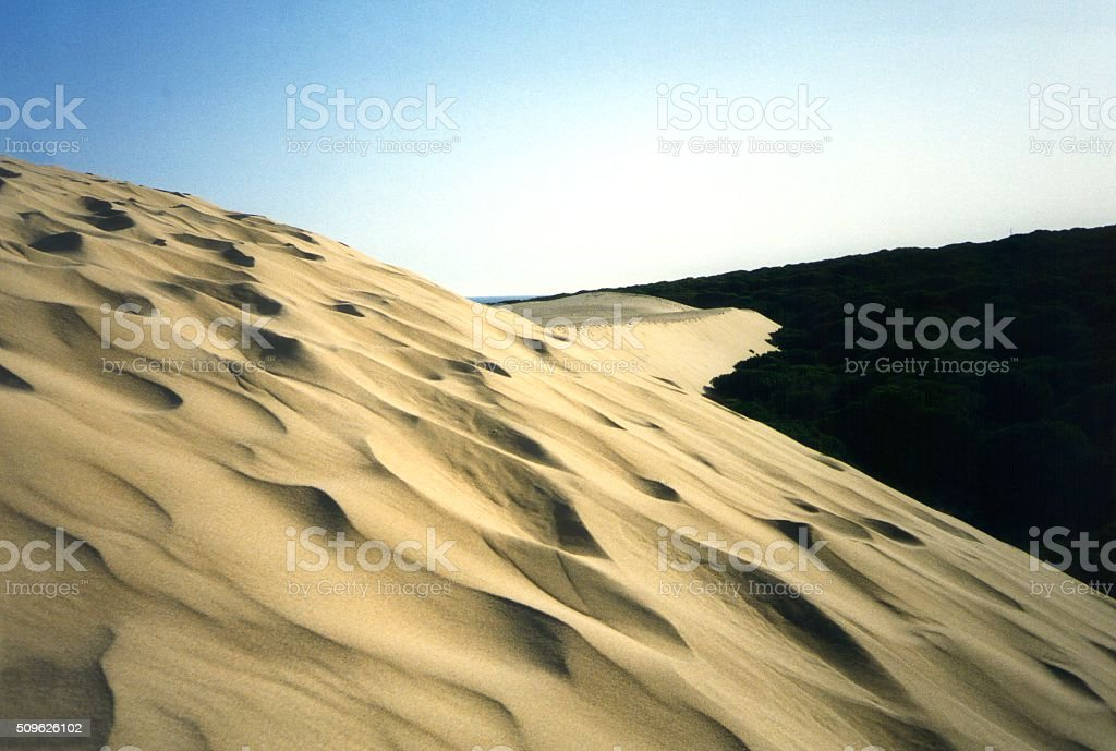 Punta Paloma, Tarifa - big sand dune stock photo