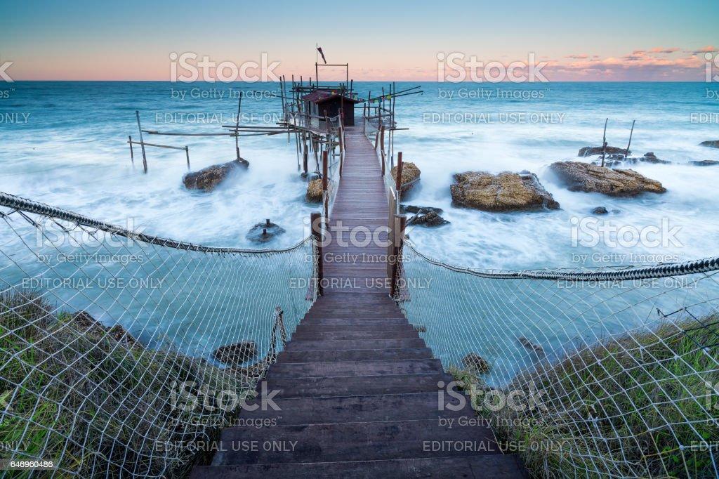 Punta torre stock photo