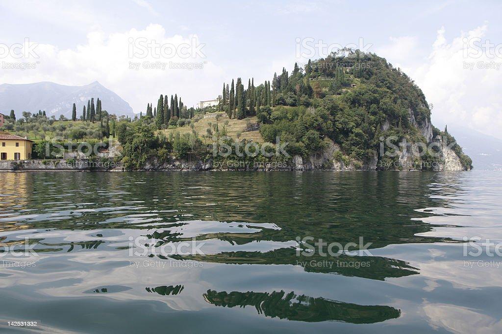 punta Villa Serbelloni royalty-free stock photo