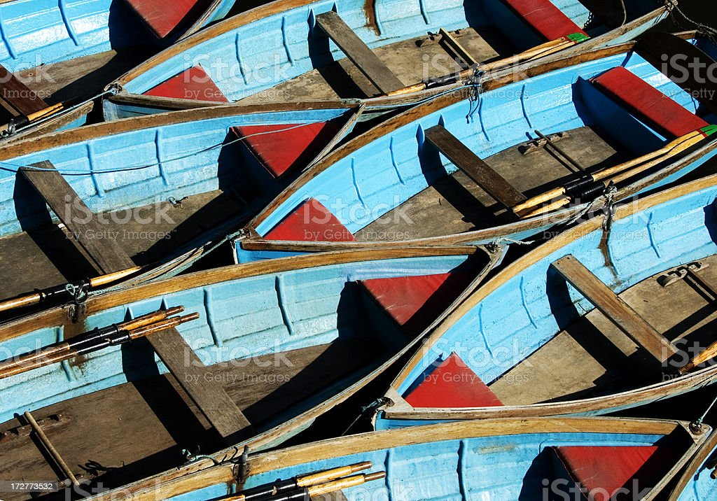 Punts royalty-free stock photo