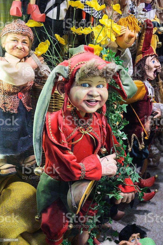 Puppet Personalities stock photo