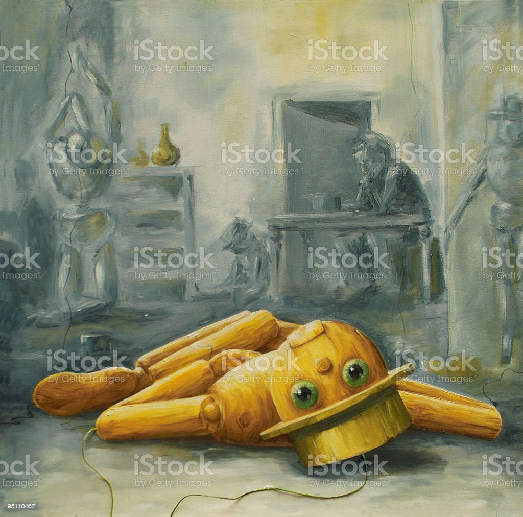 Puppet stock photo