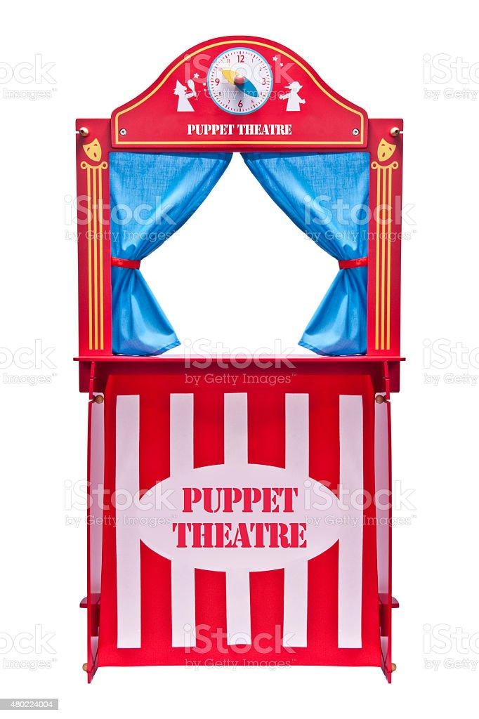 Puppet theater stock photo