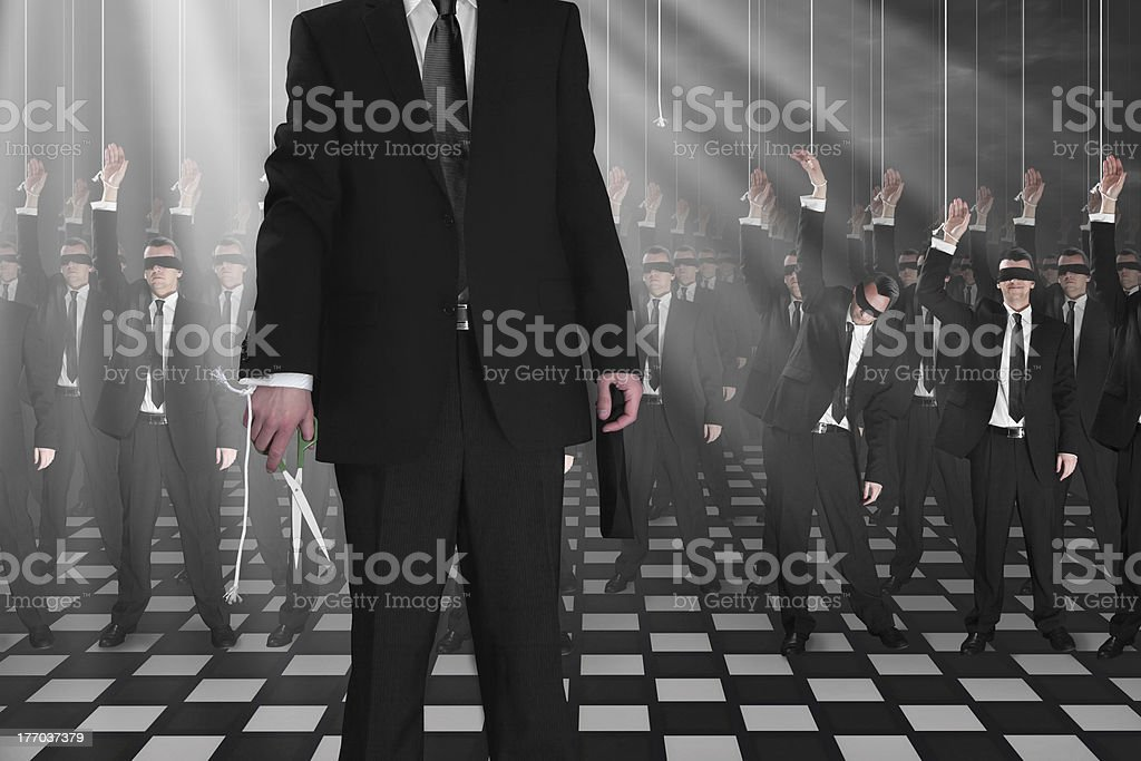 puppets royalty-free stock photo
