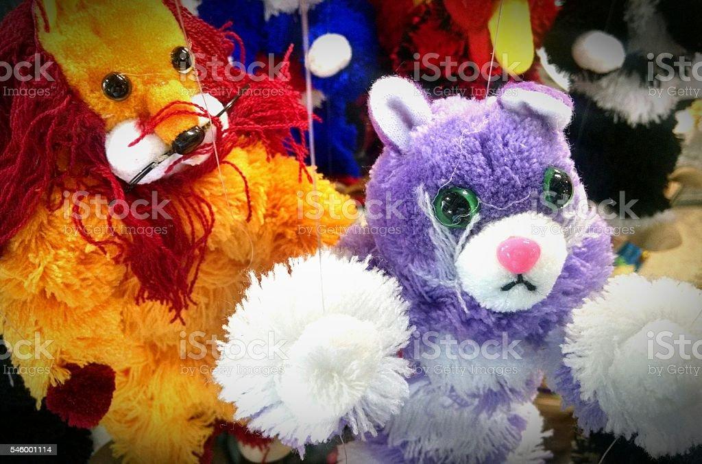Puppets stock photo