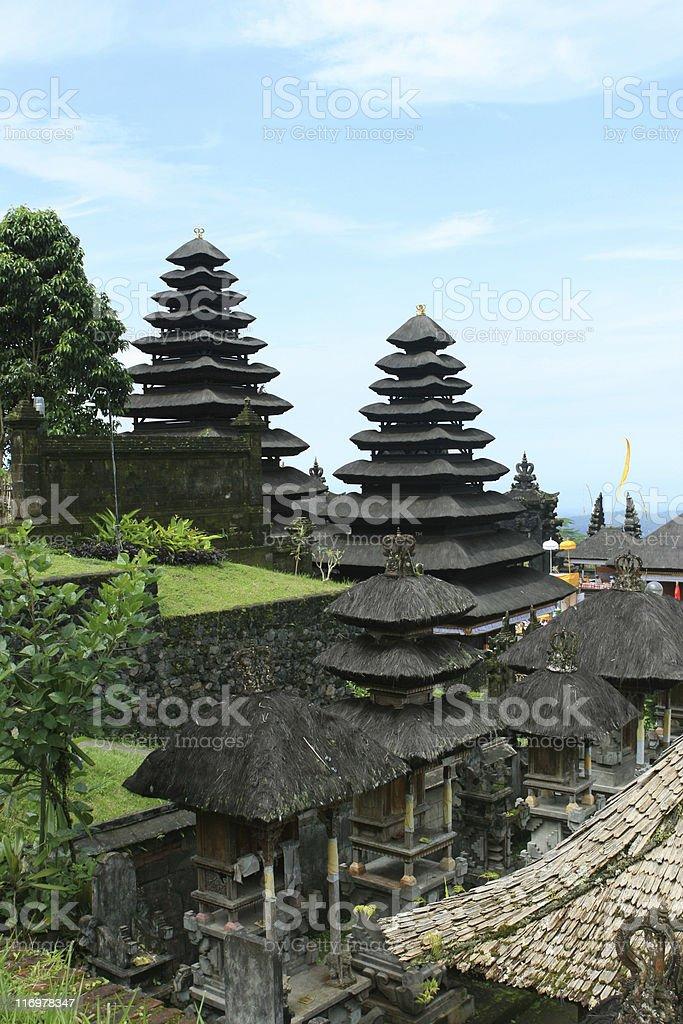 Pura Besakih, Bali stock photo