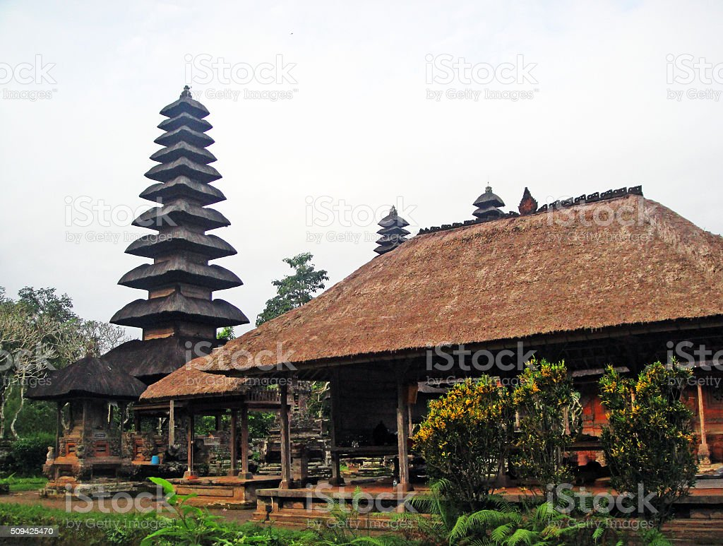 Pura Besakih in Indonesia stock photo