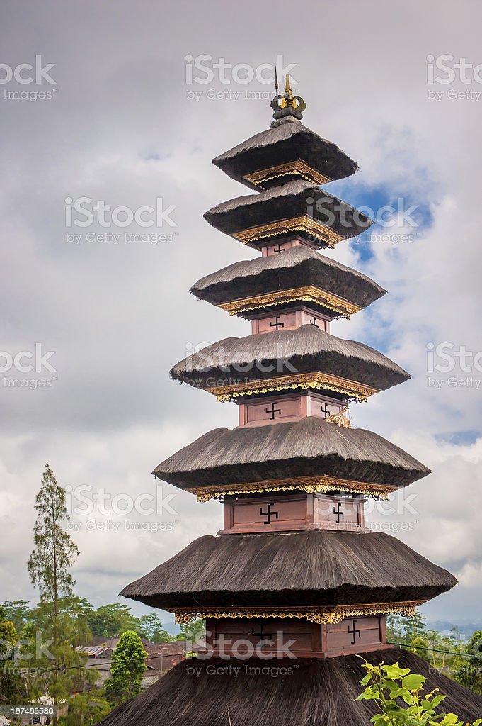 Pura Besakih temple Bali, Indonesia royalty-free stock photo