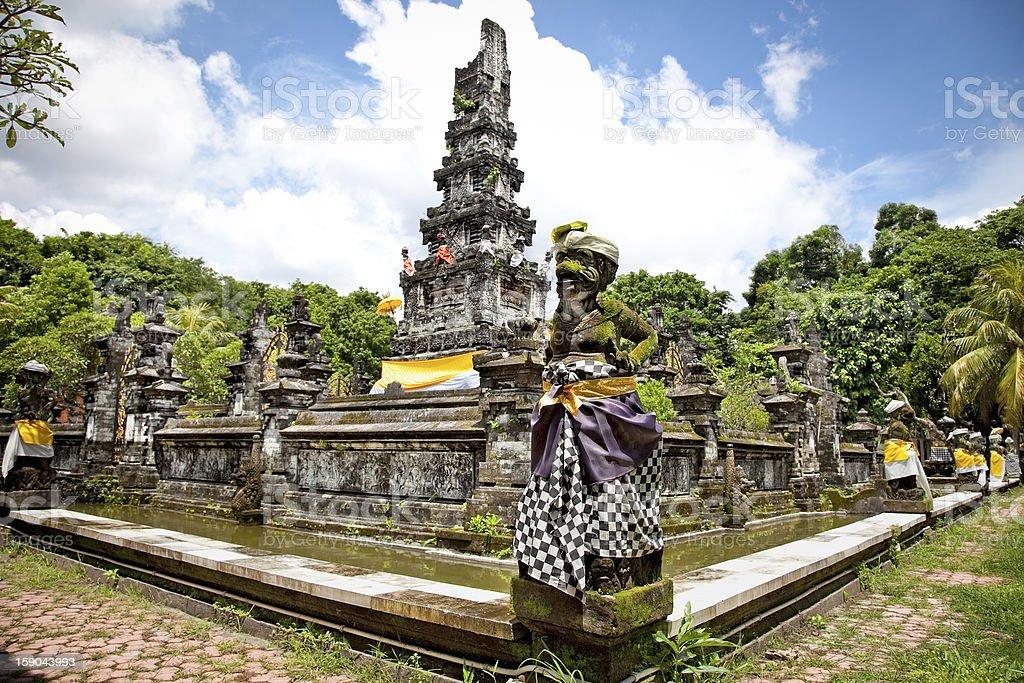 Pura Jagatnatha Temple  Denpasar, Bali, Indonesia stock photo