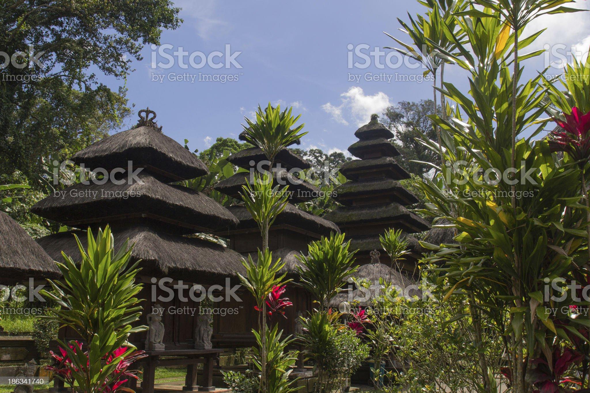 Pura Luhur Batukaru royalty-free stock photo