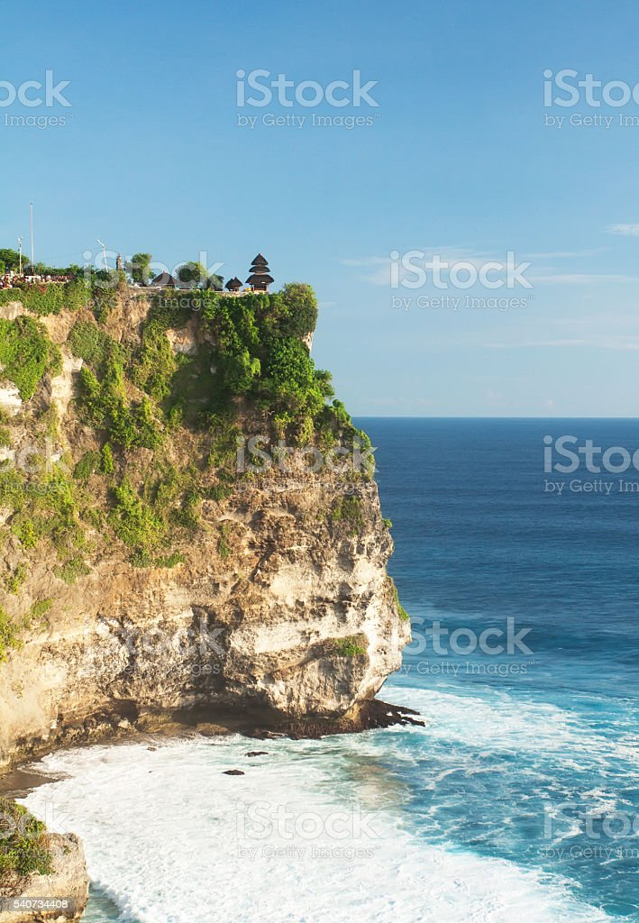 Pura Luhur Uluwatu Temple stock photo