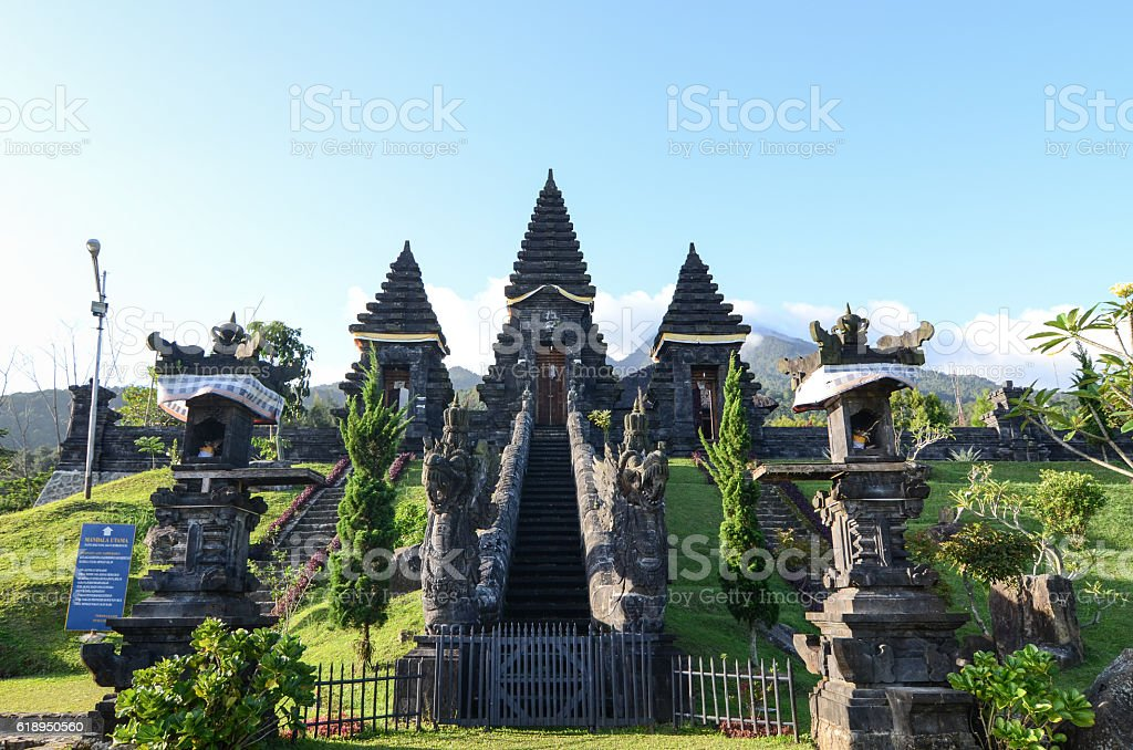 Pura Parahyangan Agung Jagatkarta - Gunung Salak Bogor Indonesia stock photo