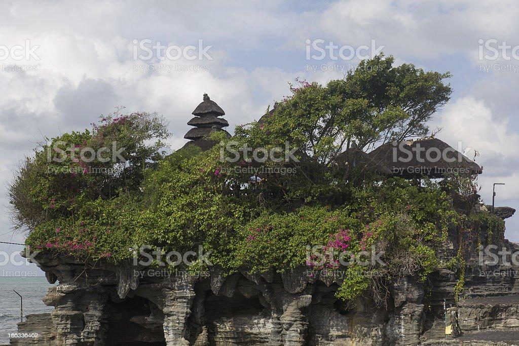 Pura Tanah Lot royalty-free stock photo