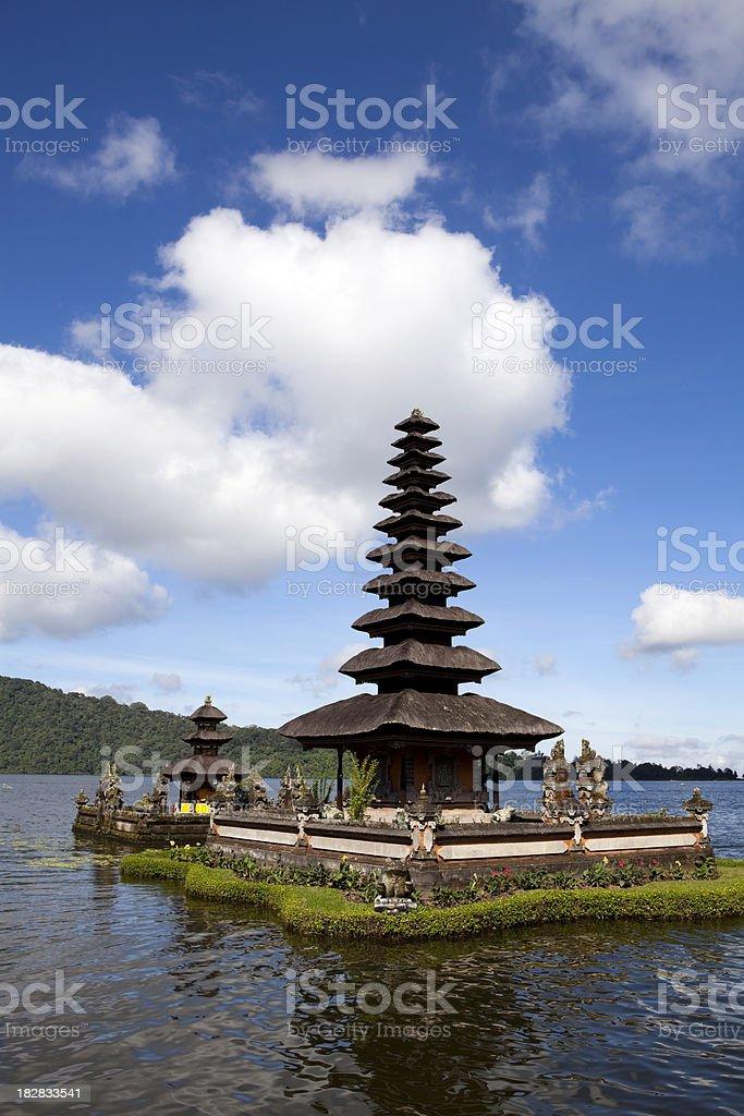 Pura Ulu Danau Bratan Bedugal Bali royalty-free stock photo
