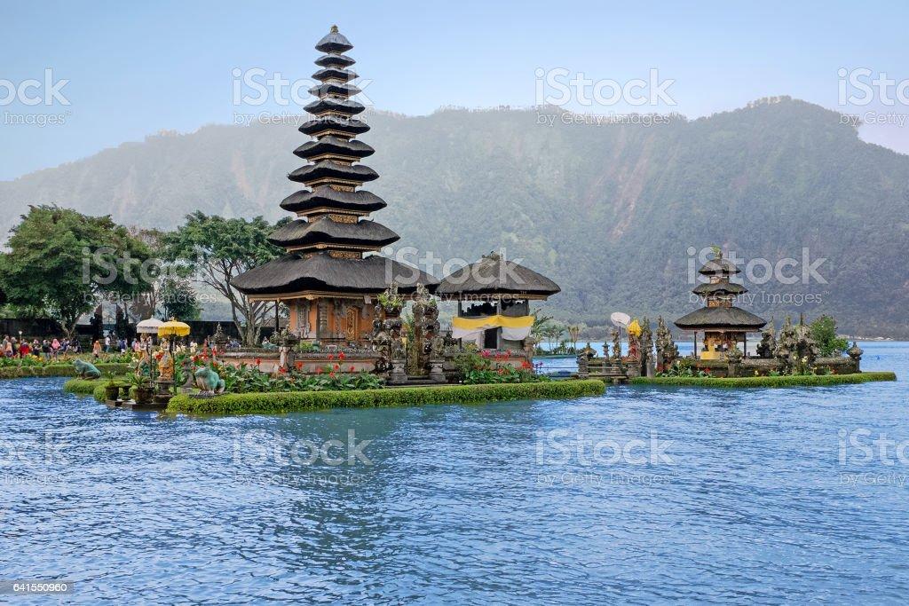Pura Ulun  Danu Bratan Hindu temple Bali, Indonesia stock photo