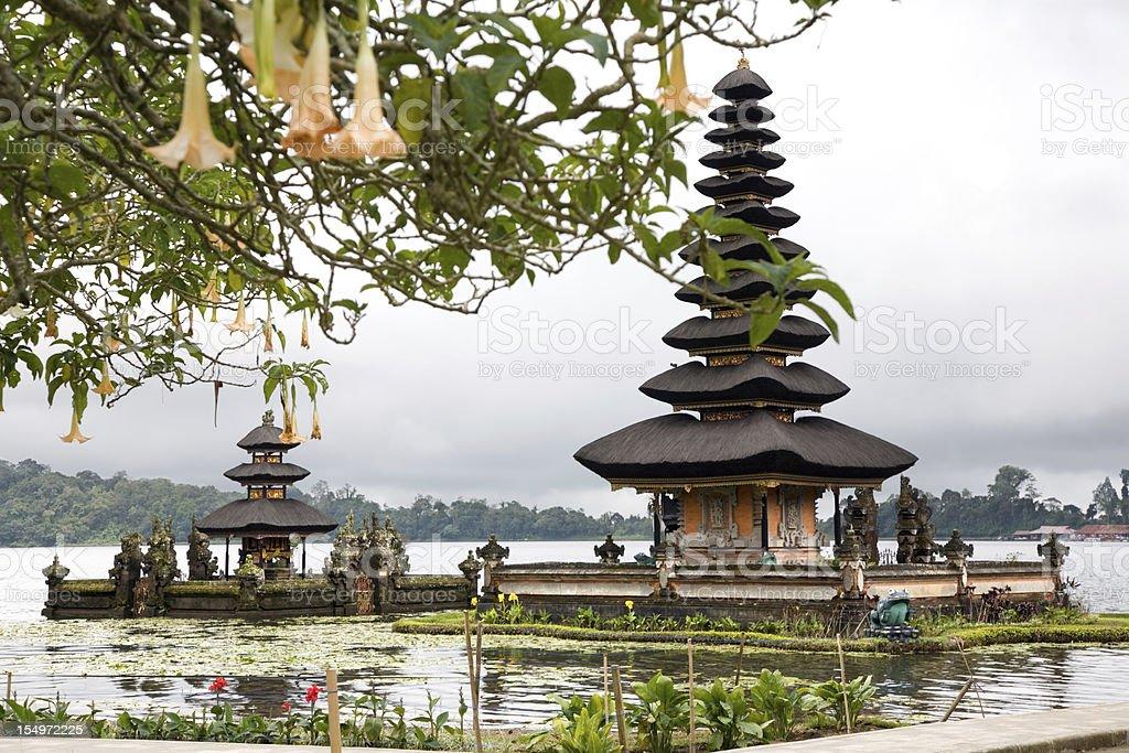 Pura Ulun Danu Temple Bali Indonesia stock photo
