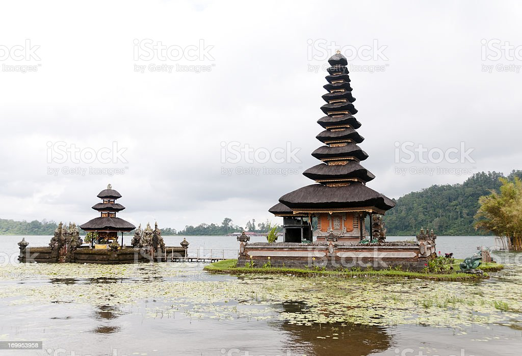 Pura Ulun Danu Temple, Bali, Indonesia stock photo