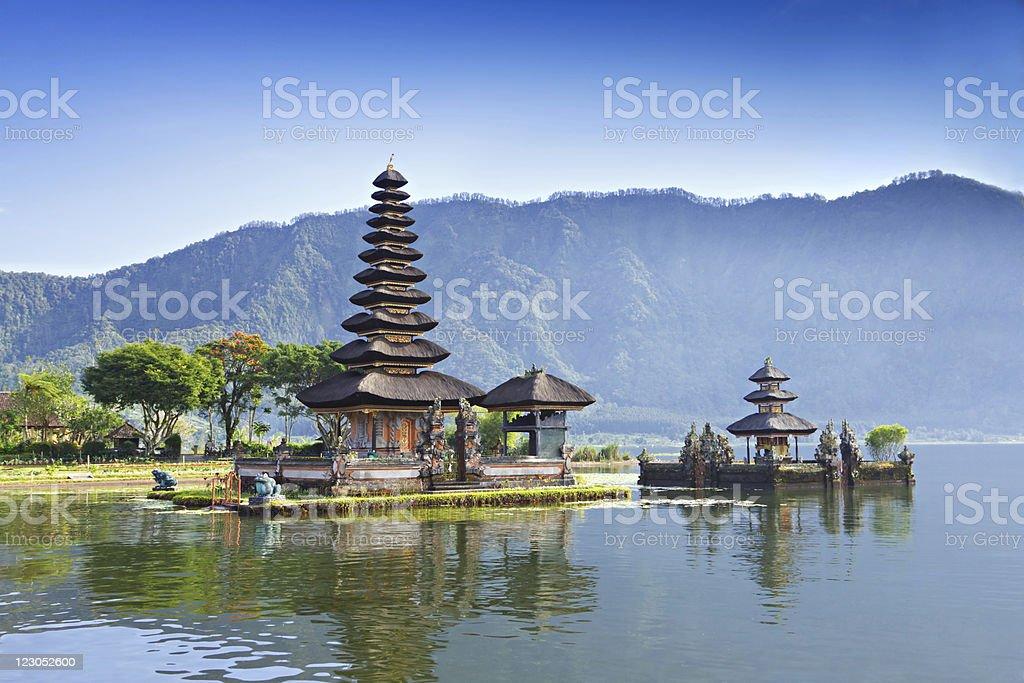 Pura Ulun Danu temple royalty-free stock photo