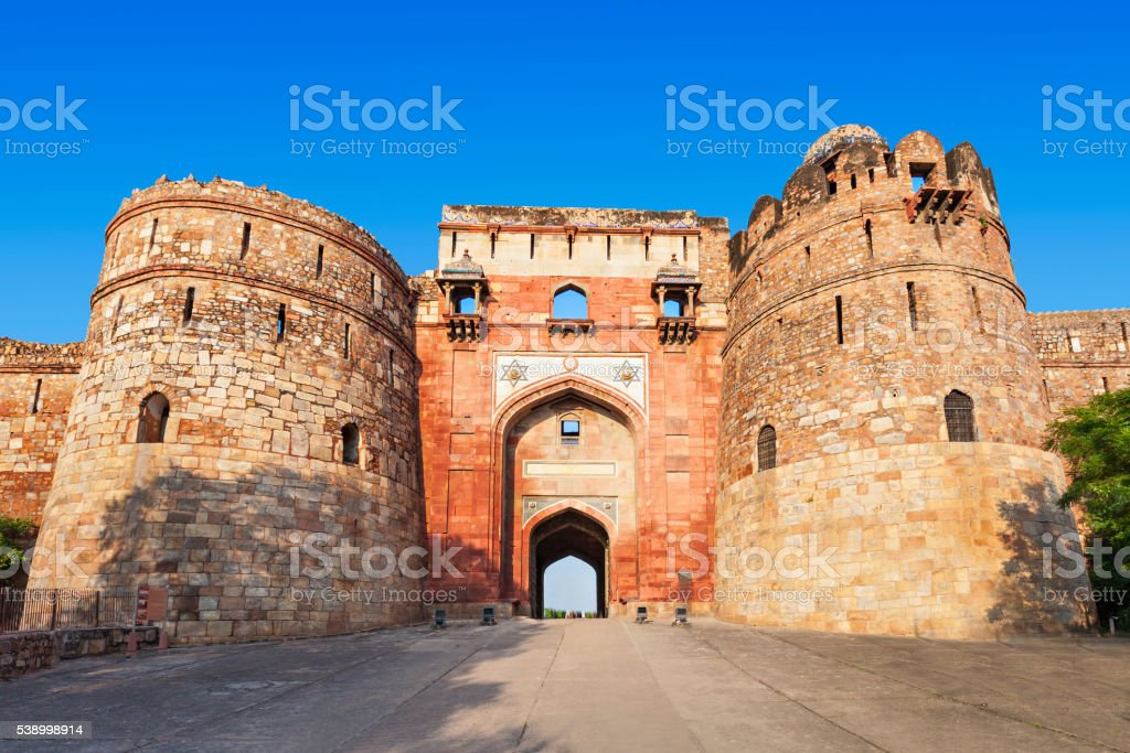 Purana Qila stock photo