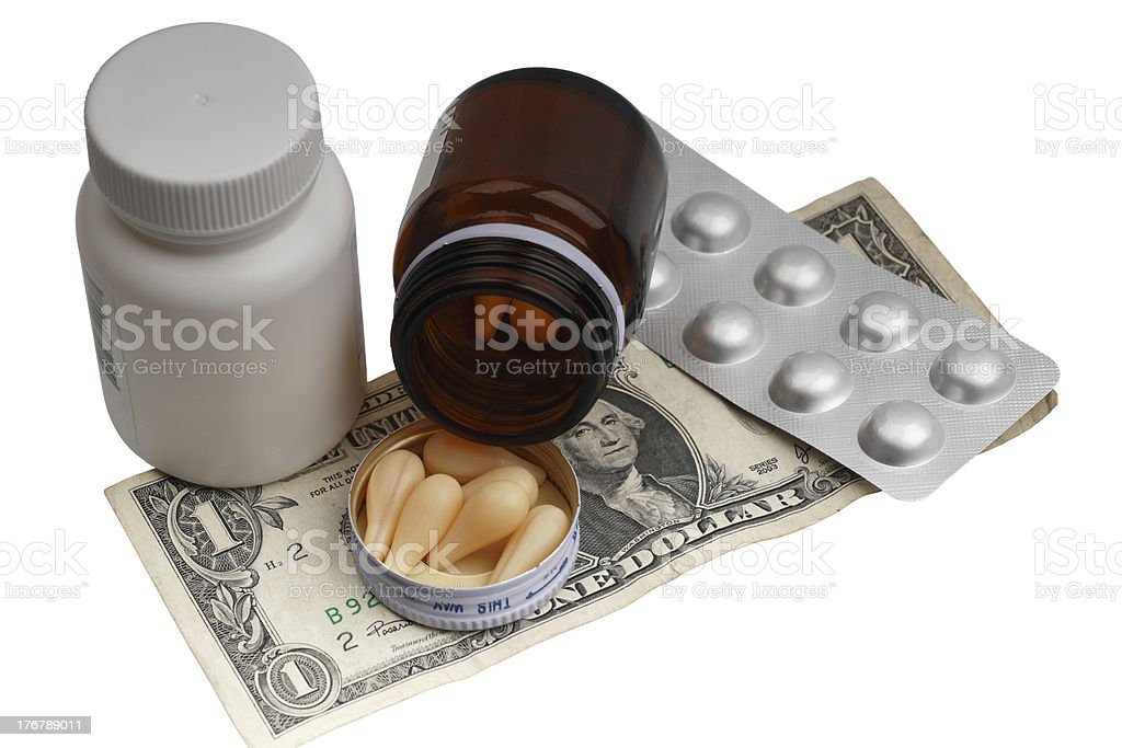 Purchase Medicines royalty-free stock photo