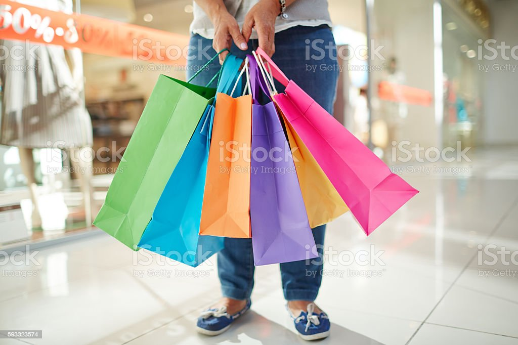 Purchases stock photo