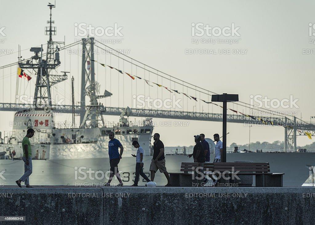 Purdy's Wharf royalty-free stock photo