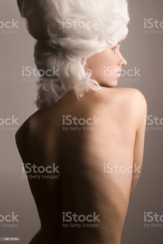 Pure back royalty-free stock photo