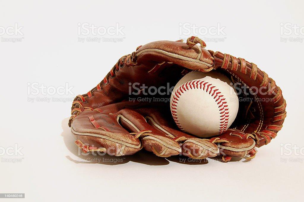Pure baseball royalty-free stock photo