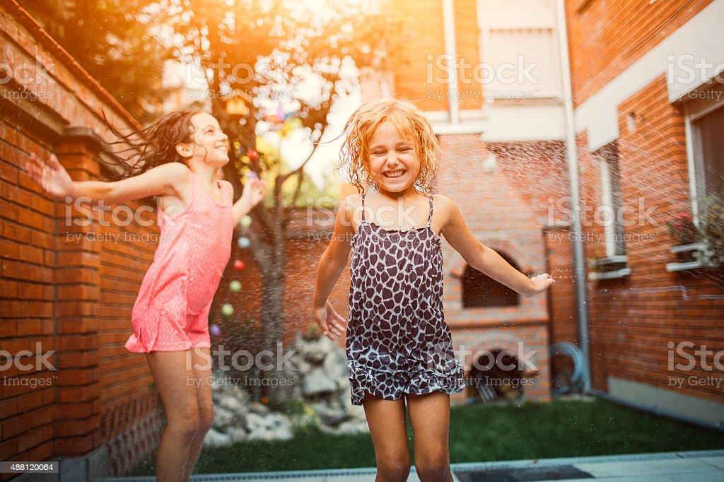 Pure Children Happiness. stock photo