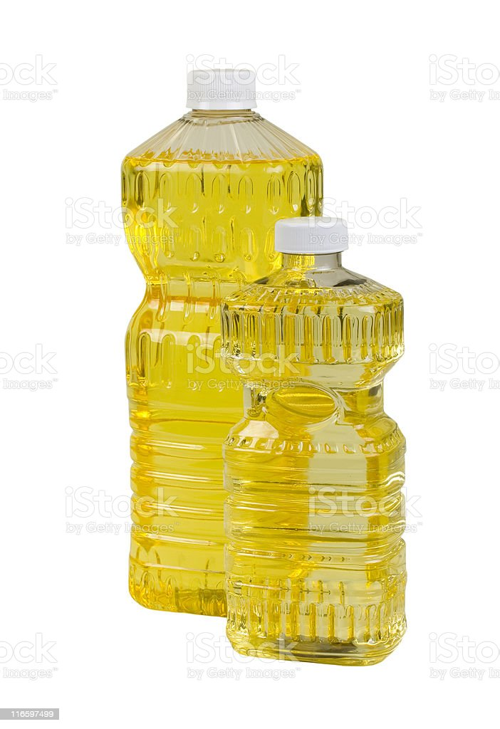 Pure Corn And Nut Oil royalty-free stock photo