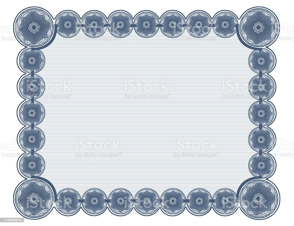 Pure Cyan document frame white background suitable for 8.5'x11' printing stock photo