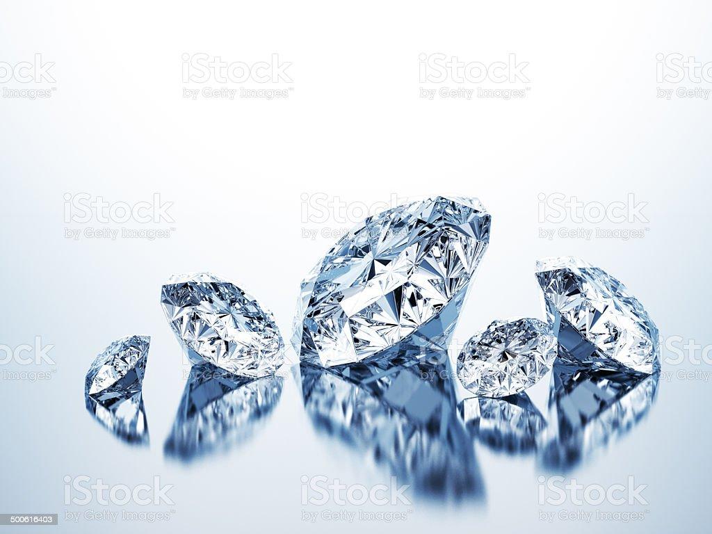 Pure Diamonds royalty-free stock photo