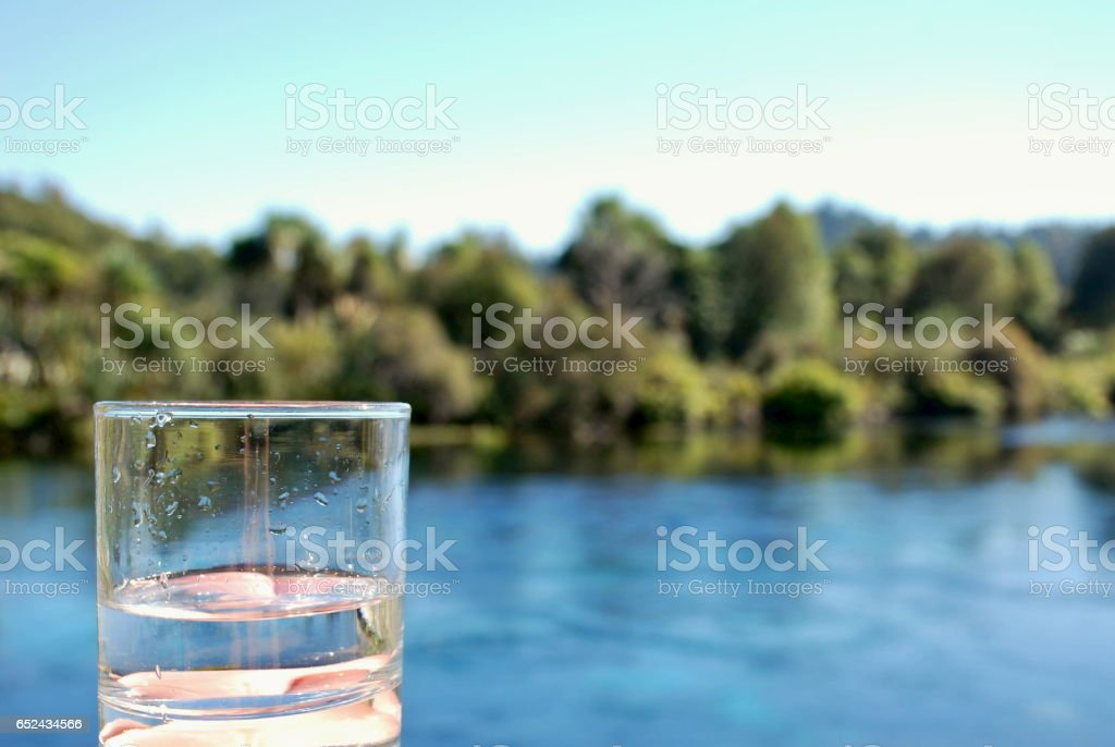 Pure Fresh Water stock photo