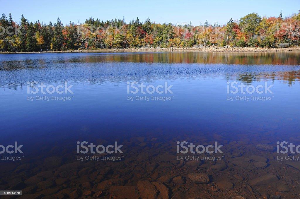 Pure Freshwater Lake royalty-free stock photo
