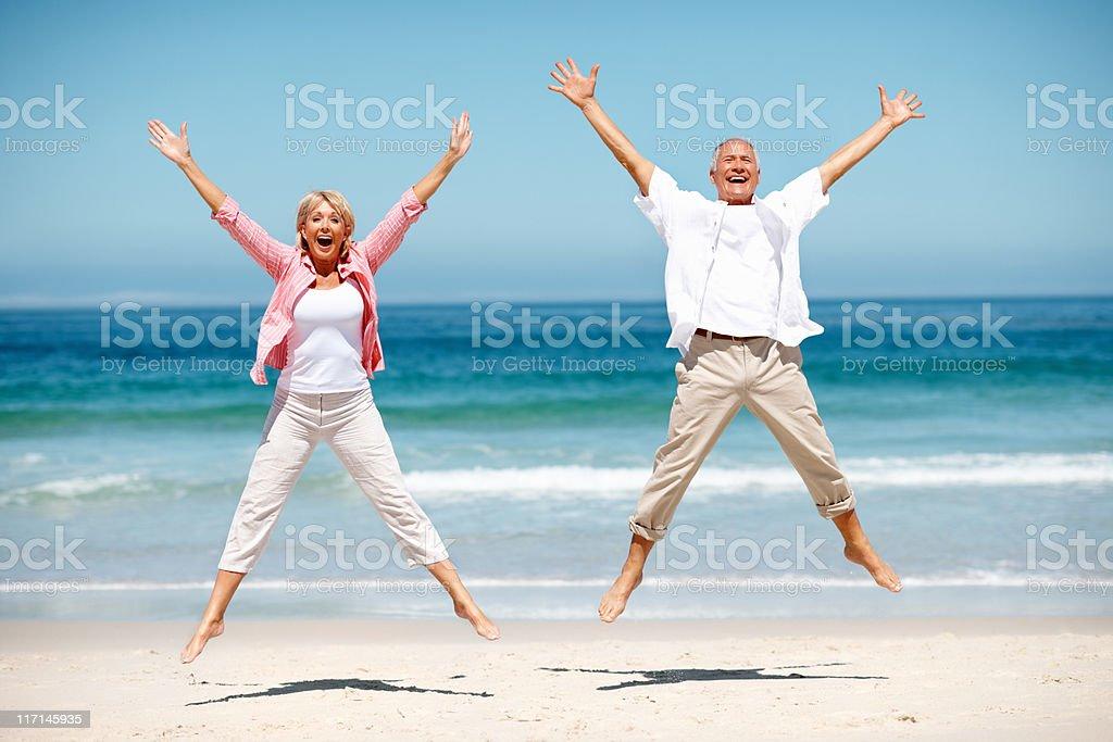 Pure happiness stock photo