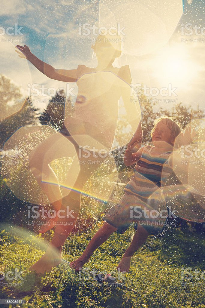 Pure happiness stock photo