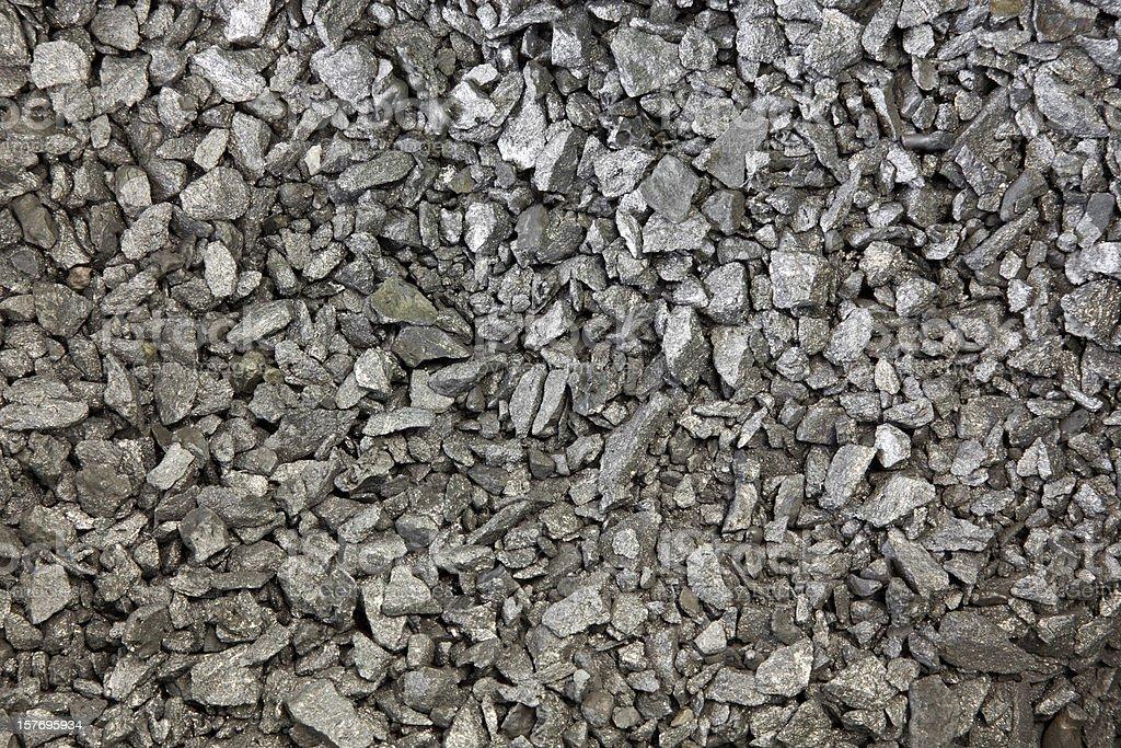 pure iron silicide, Fe-Si stock photo