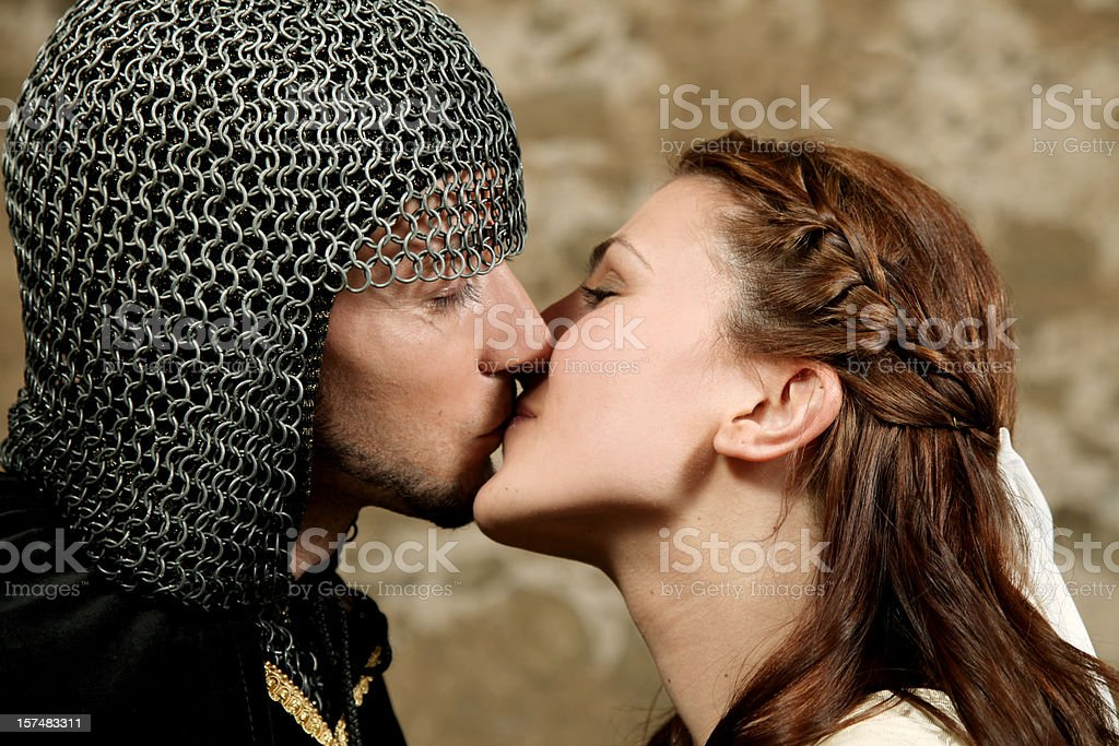 Pure kiss of love. royalty-free stock photo