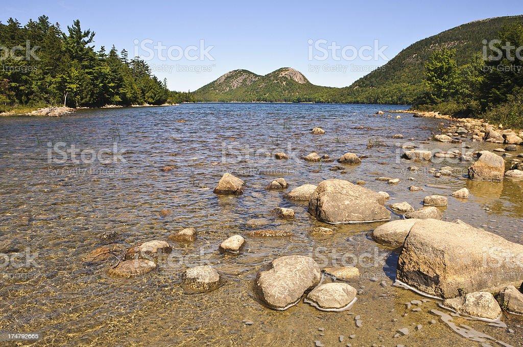 Pure Mountain Water stock photo
