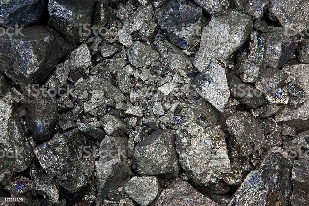 pure niobium metall stock photo