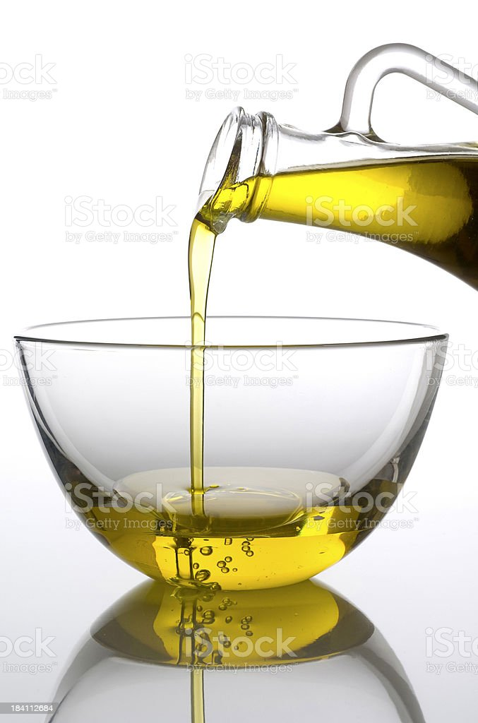 Pure olive oil royalty-free stock photo