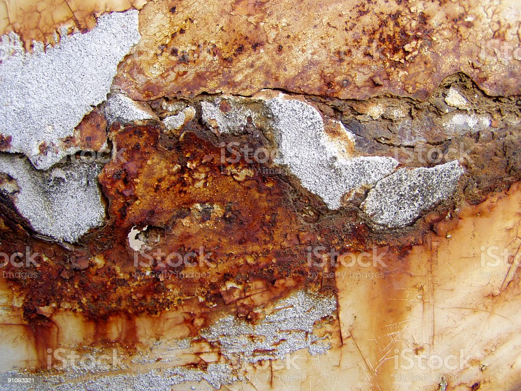 Pure rust background royalty-free stock photo